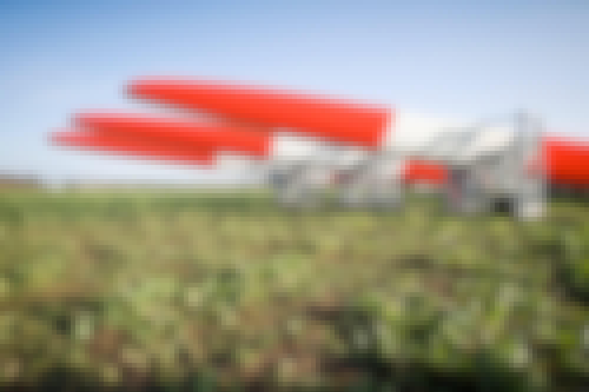 Rotorblätter Windpark Walsrode